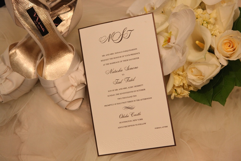 Oheka Castle Wedding Invitation