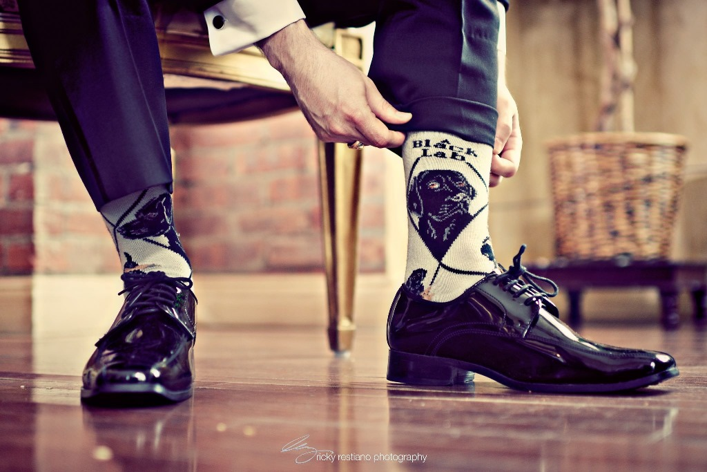 oheka, groom socks