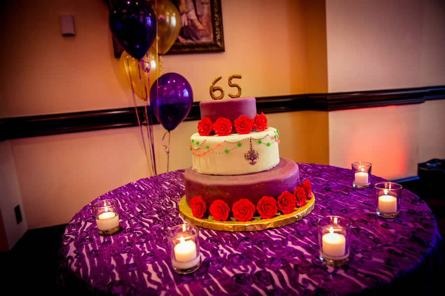 cake and linen