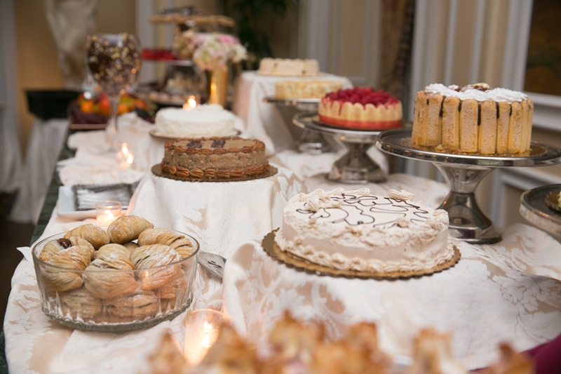 desserts at oheka
