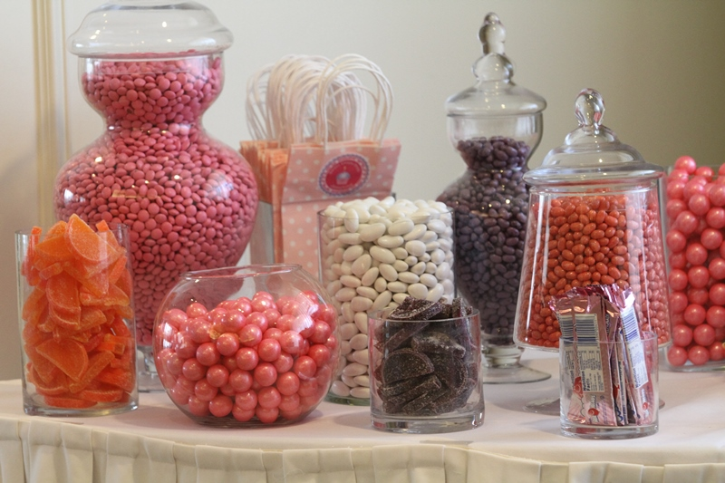 first birthday party candy bar