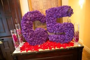 65 in flowers