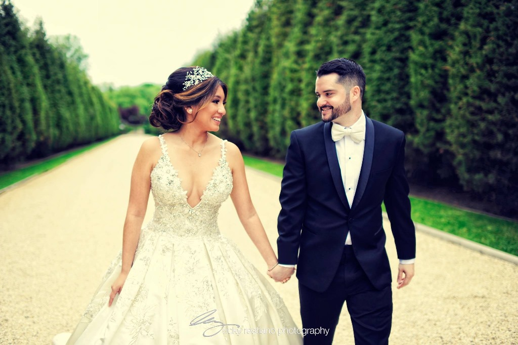 oheka, bride and groom (2)