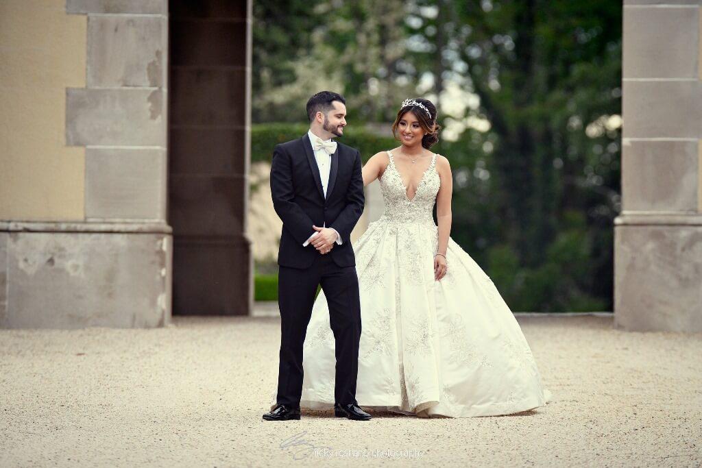 oheka bride and groom