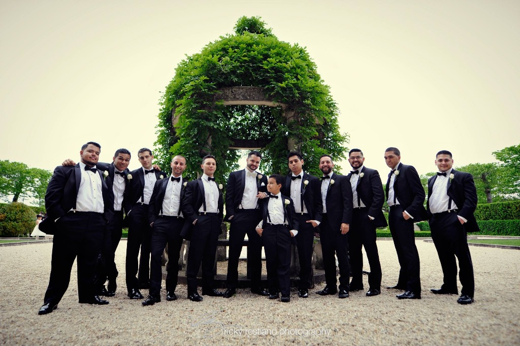 oheka, groomsmen