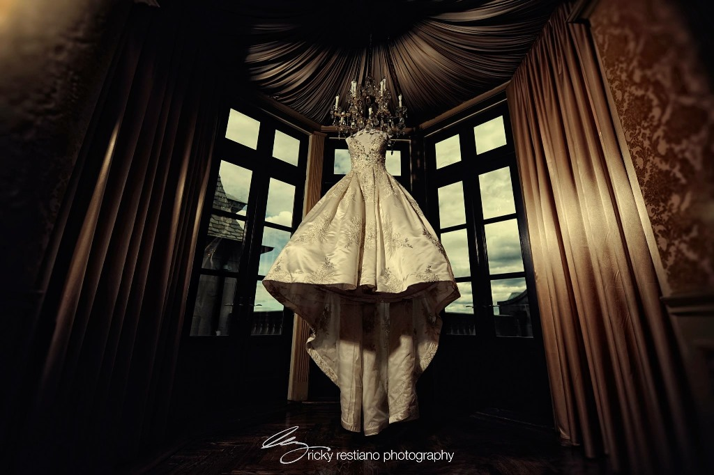 oheka, wedding dress