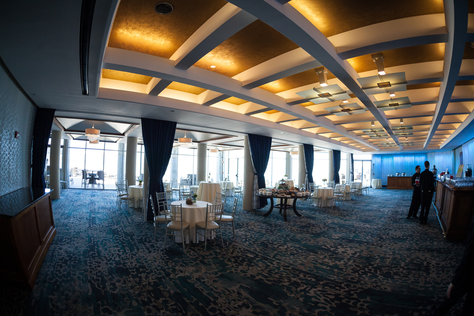 ballroom tables Crescent Beach Club (4)