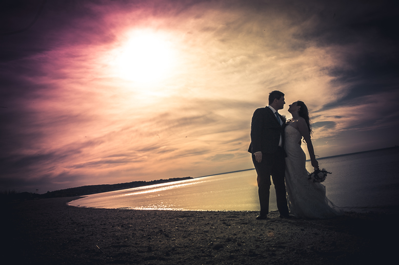 bride and groom on Beach Crescent Beach Club (6)
