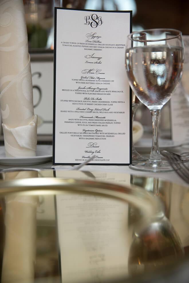 menu Giorgio's